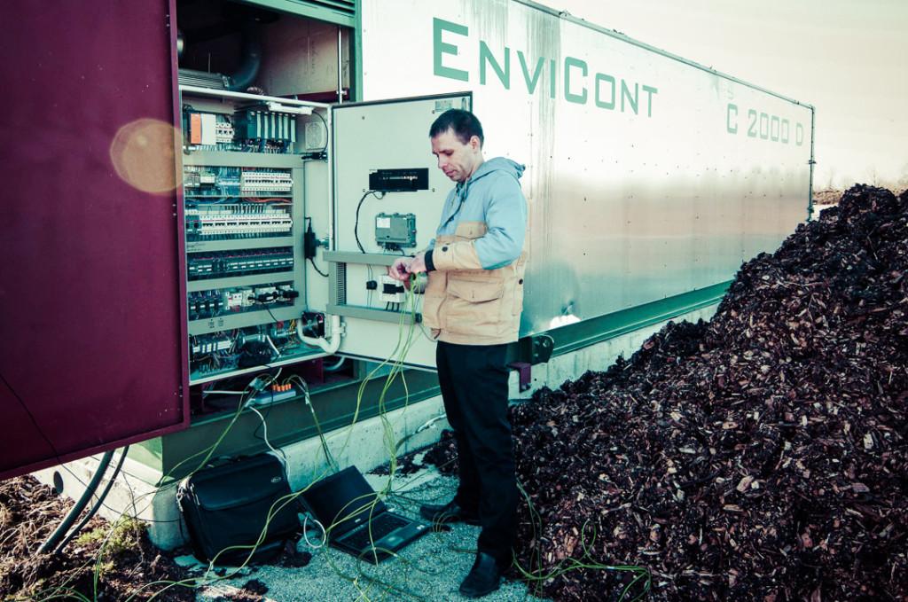 Haapsalu reoveesette kompostimise monitooringsüsteemi ehitamine